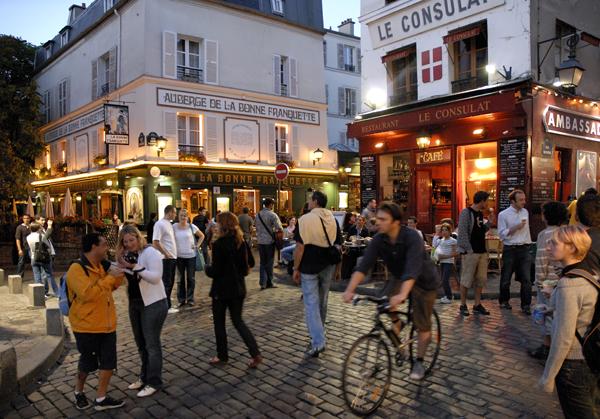 FAUCHER Bertrand - Place du Tertre